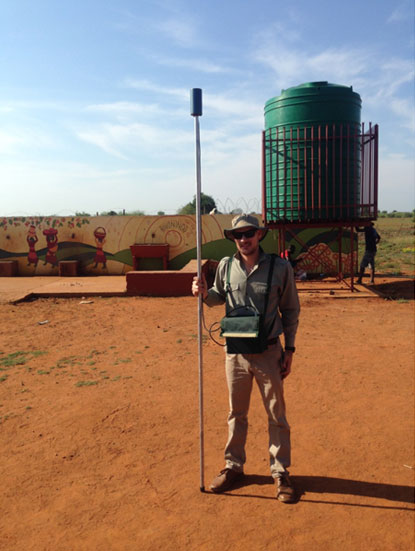 Applying ground-magnetic exploration technique to identify preferential groundwater pathways